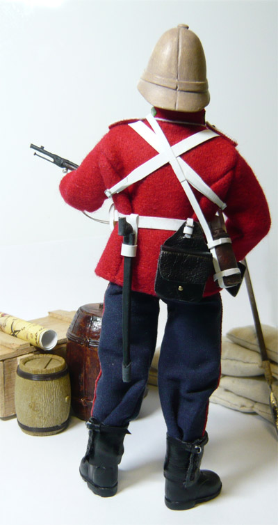 Madelman custom - 24th Foot Regiment