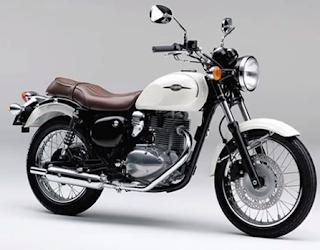 Kawasaki Estrella Pearl Alpine White