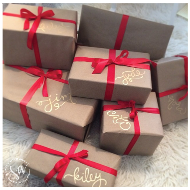 Crystal CattleChristmas Wrapping Ideas
