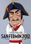 CARTEL SAN FERMIN 2012