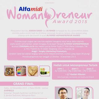 Info Kontes - Kontes ALfamidi Woman Preneur Awward 2015