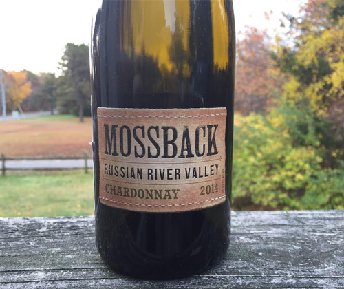 Mossback Russian River Valley 2014 Chardonnay