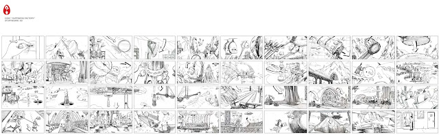 Storyboard - Coke - Happiness Factory