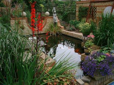 jardin reducido casa