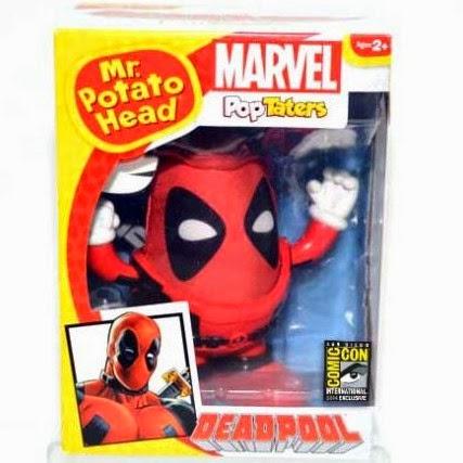 San Diego Comic-Con 2014 Exclusive Deadpool Mr. Potato Head