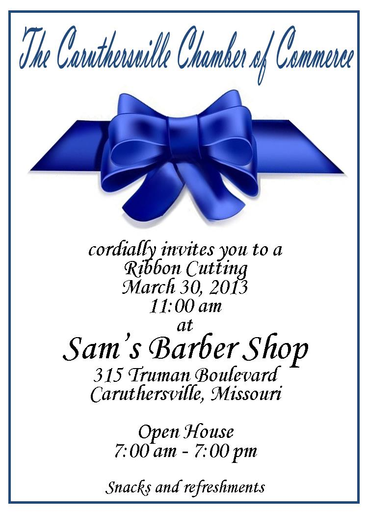 Caruthersville Chamber of Commerce: Ribbon Cutting / Grand ...
