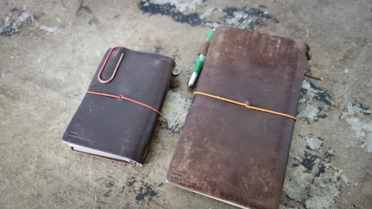 Image of: Midori Travelers How Does Your Travelers Notebook Look So Far Would Love To See It If You Could Send Us Pictures Baumkuchen Metamorphosis Midori Travelers Notebook Brown Years
