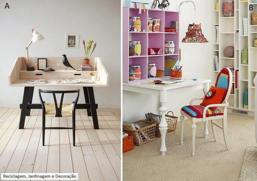 El detalle que hace la diferencia espacios peque for Ideas para decorar escritorio