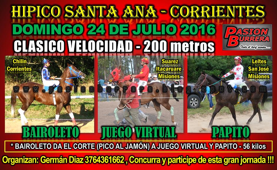 SANTA ANA - 24 DE JULIO - 200