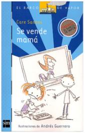 """Portada del libro """"Se vende mamá"""", de Care Santos"""