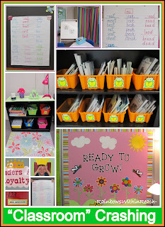 "photo of: ""Classroom"" Organization on a Color Scheme"