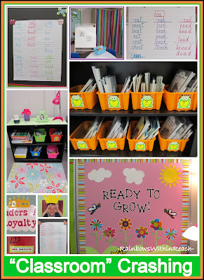 photo of: &quot;Classroom&quot; Organization on a Color Scheme