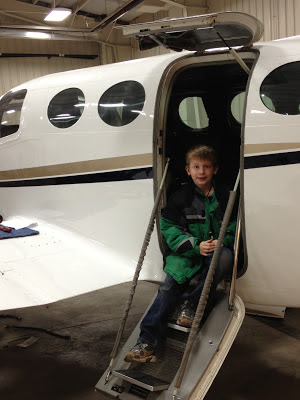 Jacob at the New Ulm Municipal Airport