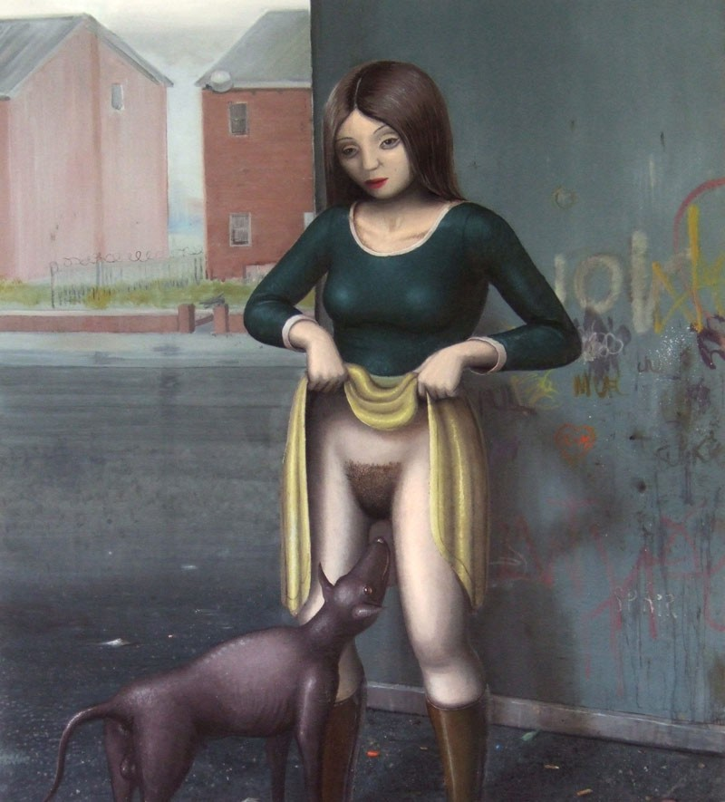 Mujer Con Perro Todo Para Facebook Imagenes