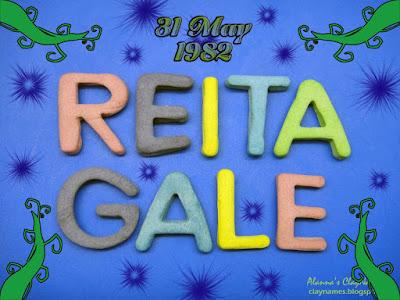Reita Gale May 31 1982