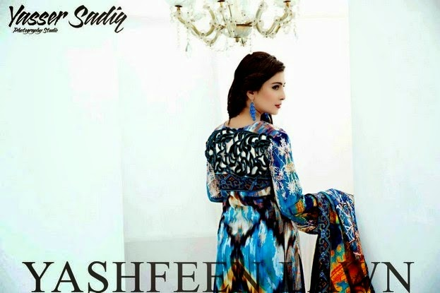 Yashfeen Lawn Summer Collection