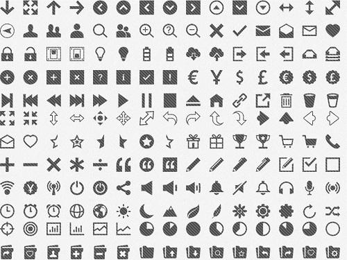 Daftar Situs Penyedia Font Icon Gratis - Pictonic Font