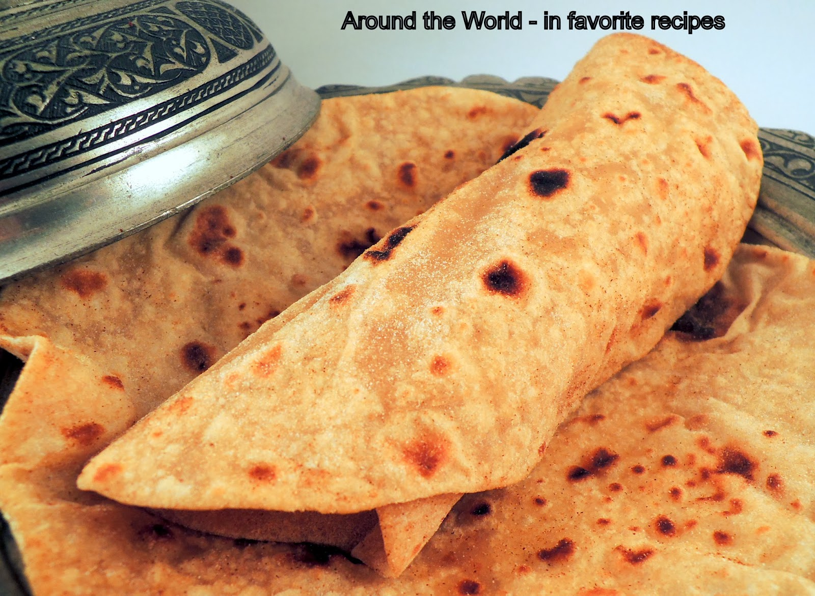 For dogs] Chapati - Indian flat bread   Trend & Fasions Blog
