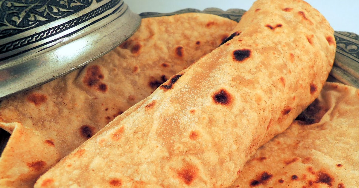 Around the World - in favorite recipes: Chapati - Indian ...