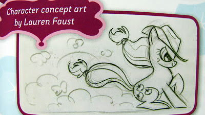 Concept art of AJ by Lauren Faust