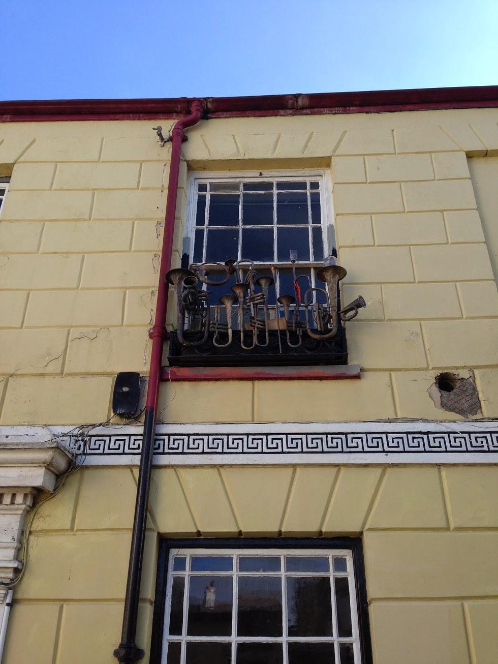 Brass instruments, Appledore, Devon