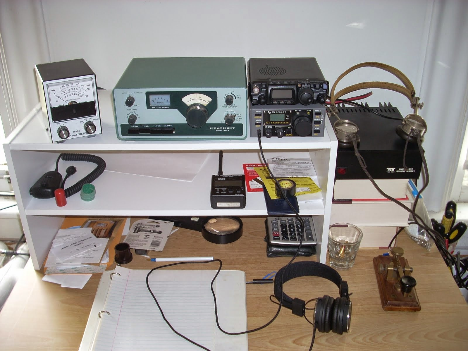 QRP CW Station