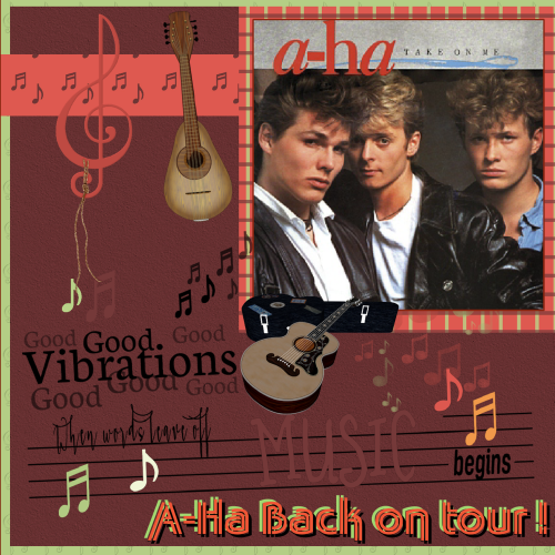 Oct. 15 - A-Ha , Back on tour