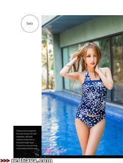 Fang Qi Yuan New Bikini Shot 2