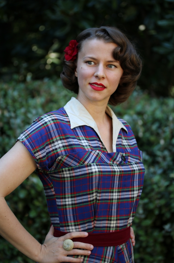 1940s Daytime Outfit #vintage #clothing #1940s #fashion #style