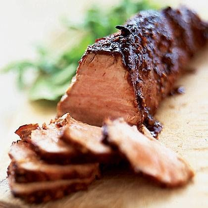 Crock Pot Brown Sugar Balsamic Glazed Pork Tenderloin