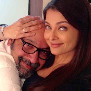 Jazbaa-Aishwarya with Mickey Contractor