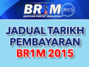 Thumbnail image for Jadual Tarikh Pembayaran BR1M 2015