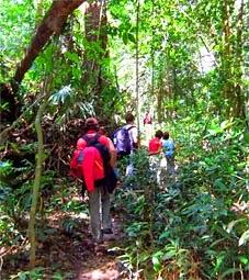 Trekking tourism in Cambodia