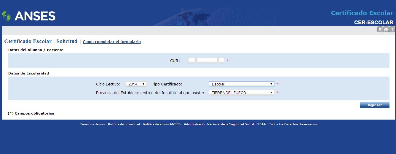 Resultado de imagen para certificado escolar se puede presentar desde la web