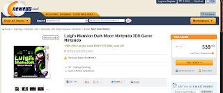 luigis mansion dark moon deal Luigis Mansion: Dark Moon   $10 Off Deal