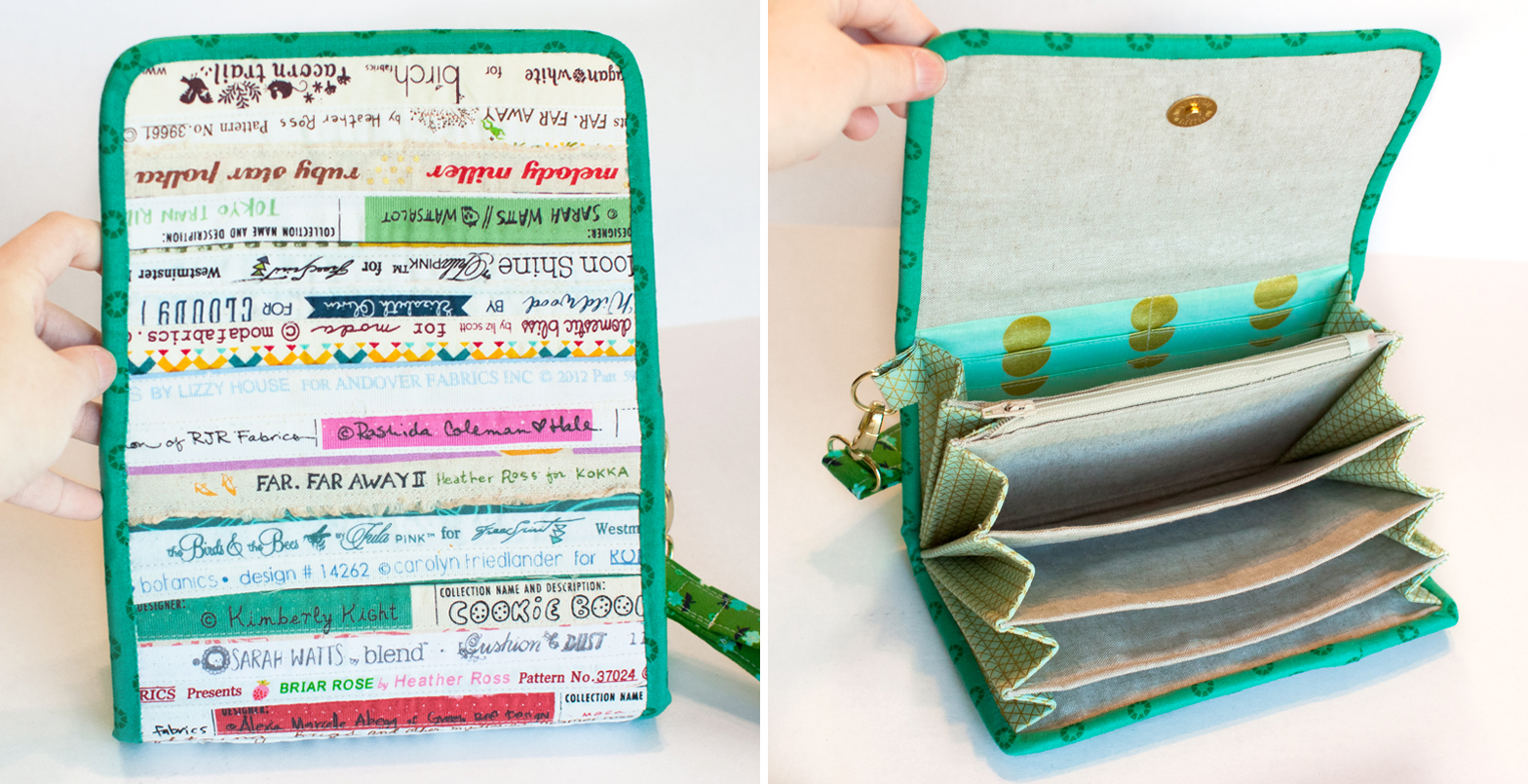 I am luna sol selvedge wallets accordion wallet pattern review thursday january 29 2015 jeuxipadfo Image collections