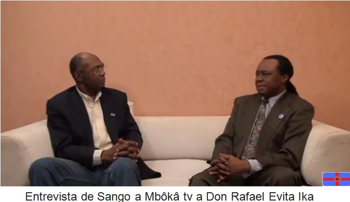 Guinea Ecuatorial: Entrevista de Sango a Mbôkâ tv a Don Rafael Evita Ika