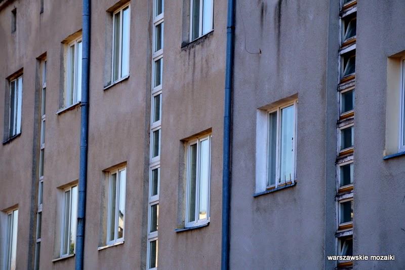 Warszawa Warsaw Stare Bielany ulice Bielan modernizm Zdobycz Robotnicza