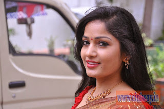 Madhavi-Latha-Stills-in-Saree