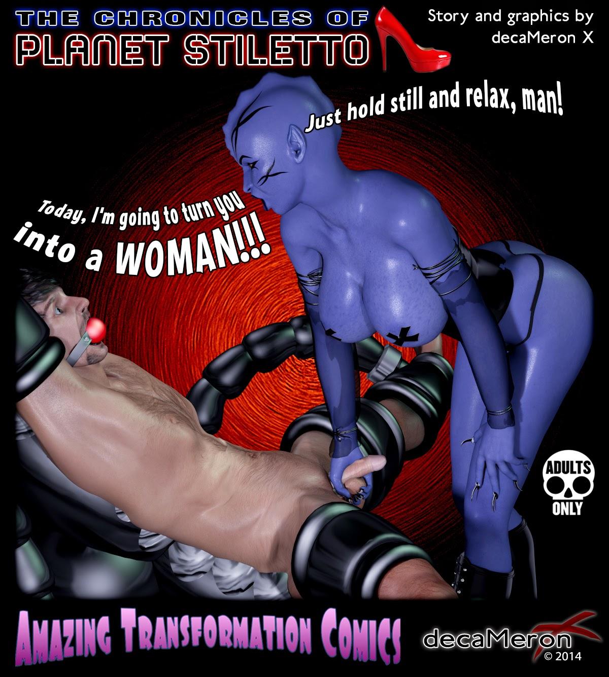 When wets transformation sex experiment comic pinterest trunk