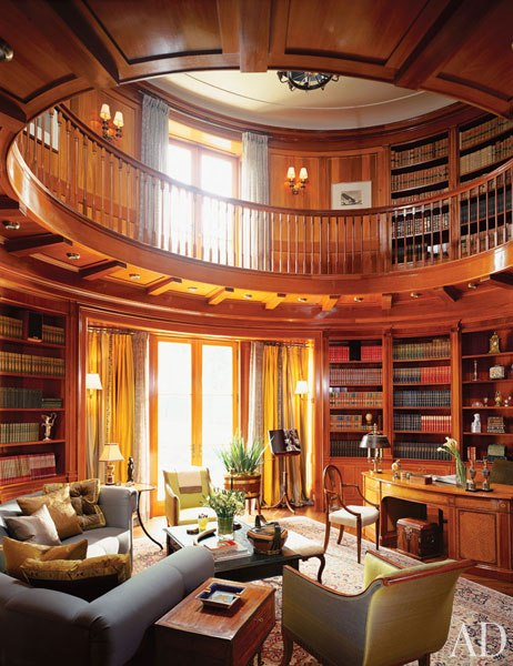Simple home interior design stunning home libraries for Home library designs interior design