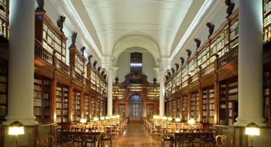 Biblioteca de la Universidad de Bolonia, curiosidades