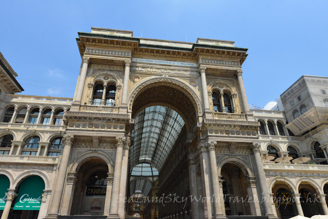 米蘭, milan, 艾曼紐二世迴廊, Galleria Vittorio Emanuele II