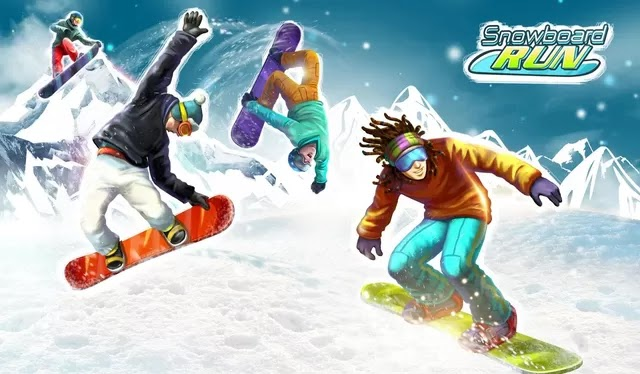 Screenshot Snowboard Run