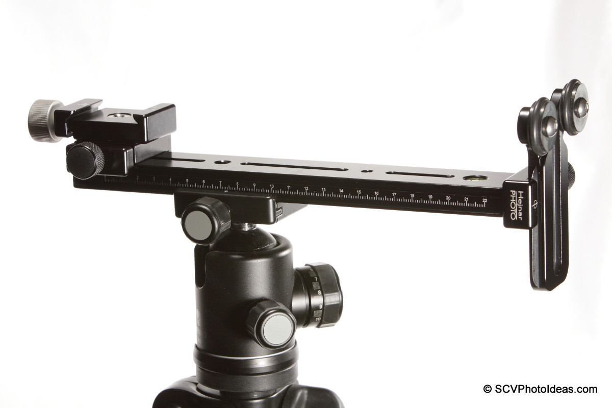 LLSB w/ Hejnar PHOTO G20-10 + F60 QR clamp + F61b & F012 QR clamps back to back