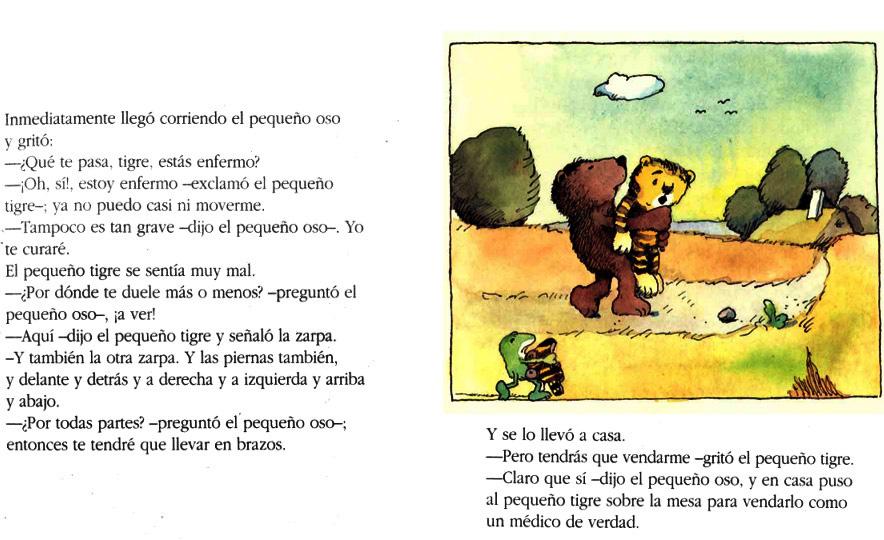 biblioteca Kynturayen: Yo te curaré, dijo el pequeño oso - Janosch