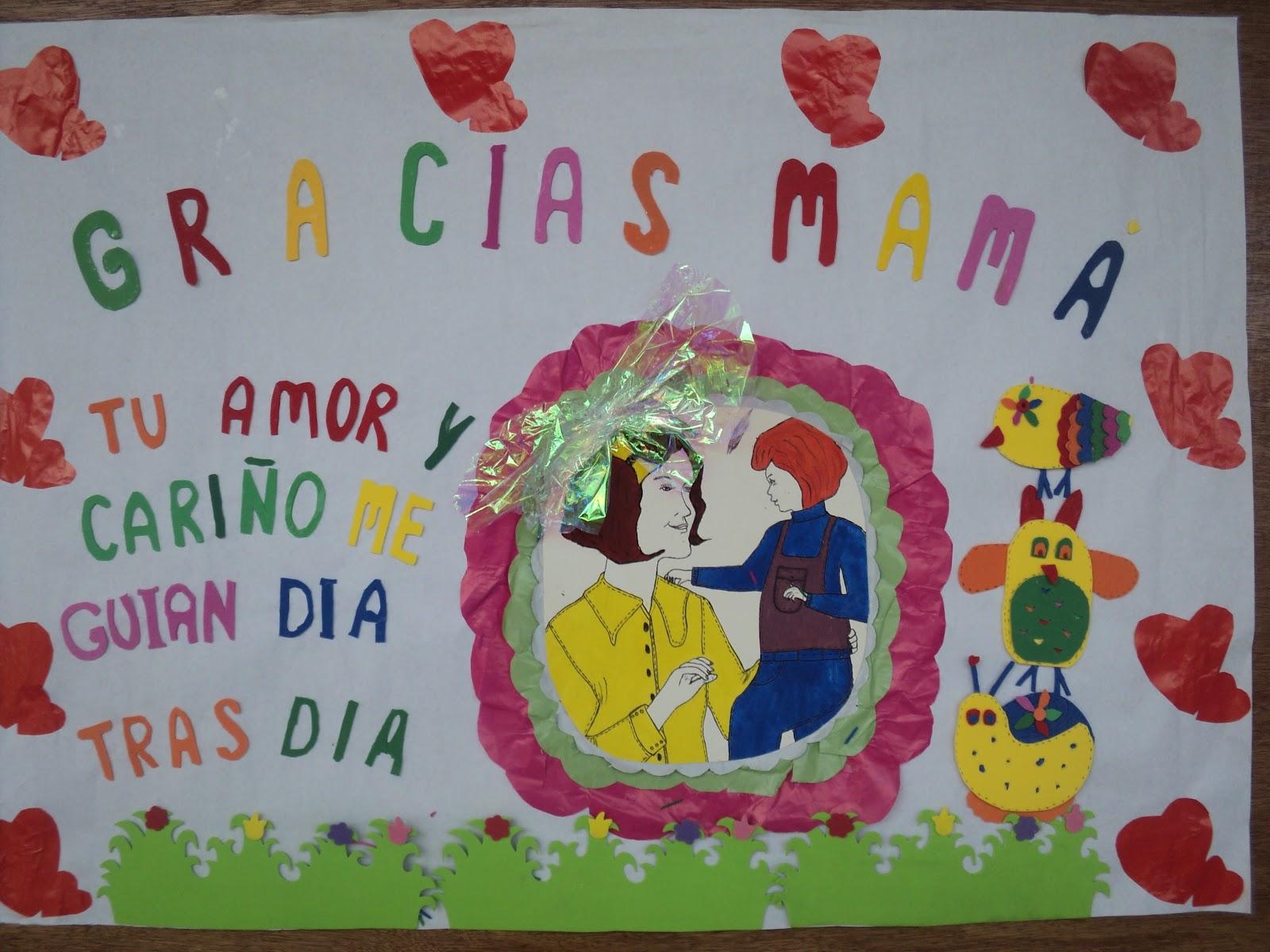 I e del dagua cartelera alusiva a la madre for Mural una familia chicana