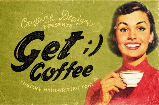Get Coffee Free Font