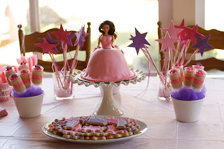 princess party, princess cake