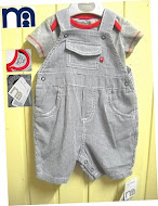 Mothercare overall+romper